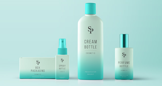 Psd Cosmetic Packaging Mockup Vol4 Psd Mock Up Templates