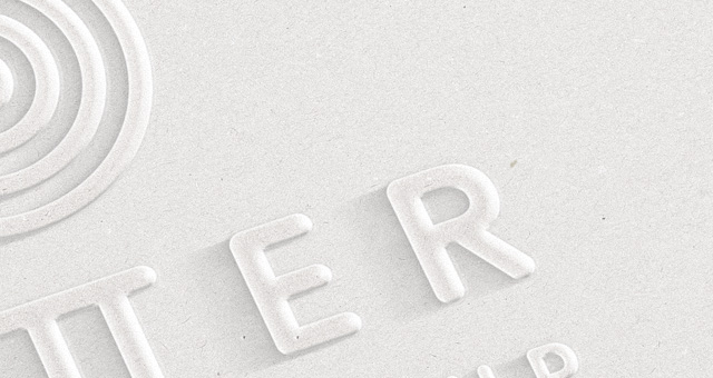 Embossed 3d Logo Mock Up Template Psd Mock Up Templates