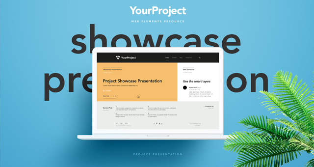 Psd Showcase Project Presentation Vol  Psd Web Elements  Pixeden