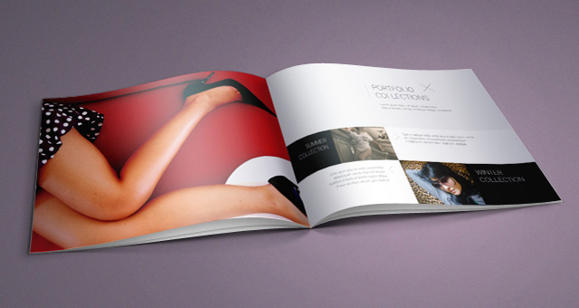 Fashion Catalog Template 02
