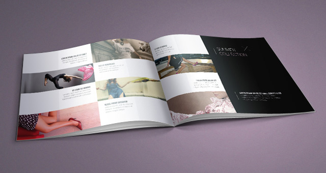 Fashion Catalog Template | Catalog Templates | Pixeden