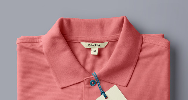 Folded psd polo shirt mockup psd mock up templates pixeden for Free polo shirt mockup