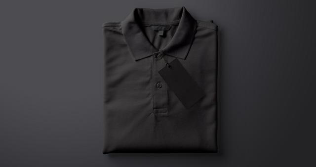 Folded Psd Polo Shirt Mockup Psd Mock Up Templates Pixeden