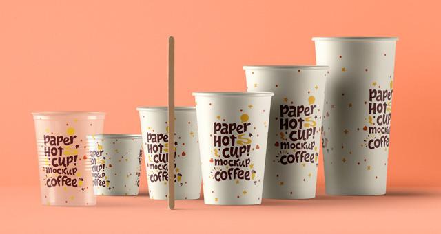Psd Paper Hot Cup Template Vol6 Psd Mock Up Templates Pixeden