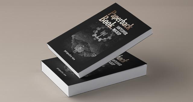 paperback psd book mockup vol4 psd mock up templates pixeden