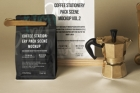 Coffee Psd Stationery Scene Mockup 2