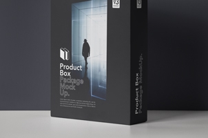 Psd Product Box Package Mockup 3