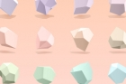 Abstract 3D Polygon Vector Shapes