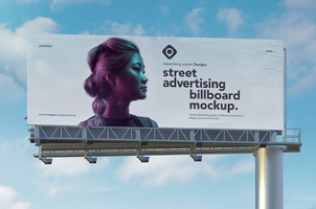 Advertising Psd Billboard Mockup Vol2
