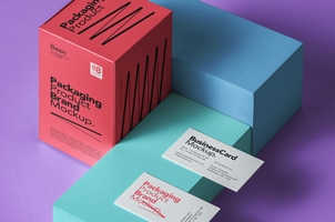 Basic Psd Product Packaging Mockup
