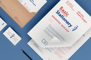 Basic Stationery Branding Vol 1