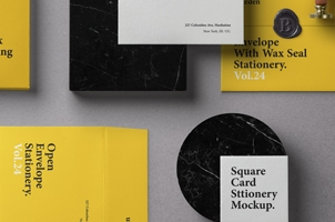 Basic Stationery Branding Vol 24