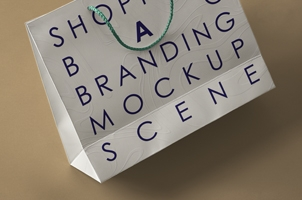 Brand Shopping Bag Psd Mockup