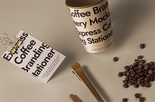 Branding Psd Coffee Set Mockup 2