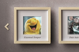Carousel Psd Photo Frame Slider
