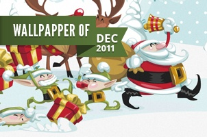 Christmas Wallpaper Widescreen December 2011