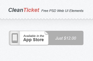 Cleanticket Psd Web UI Set