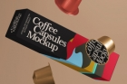 Coffee Pods Psd Packaging Mockup Vol3
