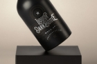 Dark Psd Liquor Bottle Mockup
