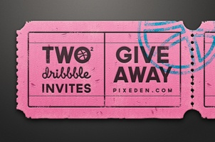 Dribbble Invitation Giveaway - 2 Invites