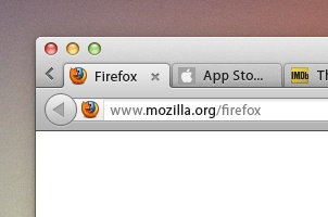 Firefox Browser Psd Mock-up