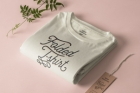 Folded Psd T-Shirt Mockup Template