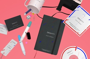 Gravity Stationery Branding Vol 1