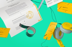 Gravity Stationery Branding Vol 2