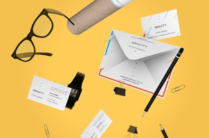 Gravity Stationery Branding Vol 3