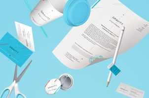 Gravity Stationery Branding Vol 4