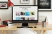 iMac Workspace Desk Psd Mockup