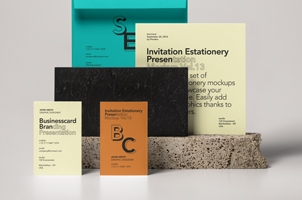 Invitation Stationery Mockup Vol 13