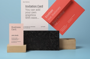 Invitation Stationery Mockup Vol 14