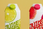 Juice Milk Psd Carton Bottle Mockup