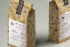 Kraft Coffee Bag Packaging Mockup 3