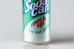 Large Psd Soda Can MockUp