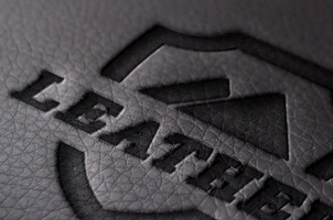 Leather Logo Mock-Up Template