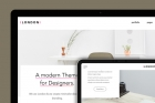 London HTML5 Modern Website Template