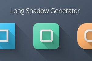 Long shadow Generator Psd