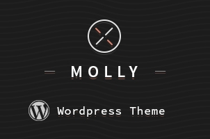 Molly Corporate WordPress Theme