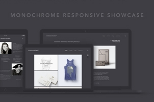Monochrome Responsive Showcase Vol2