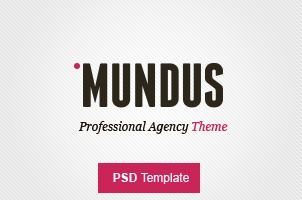 Mundus Agency Psd Web Template