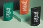 Packaging Psd Stand Up Pouch Mockup