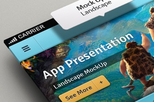 Perspective App Screen Mock-Up 2