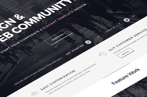 Plazza Corporate Psd Website