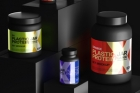 Protein Psd Jar Bottle Mockup Set