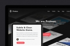 Proteos HTML5 Modern Website Template