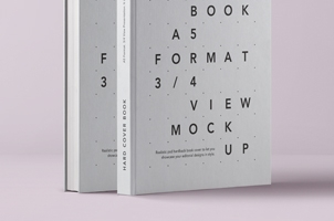 Psd A5 Hardcover Book Vol1