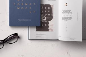 Psd A5 Hardcover Book Vol2