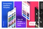 Psd App Store Screenshot Template